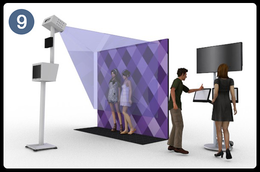 Projection Video Booth
